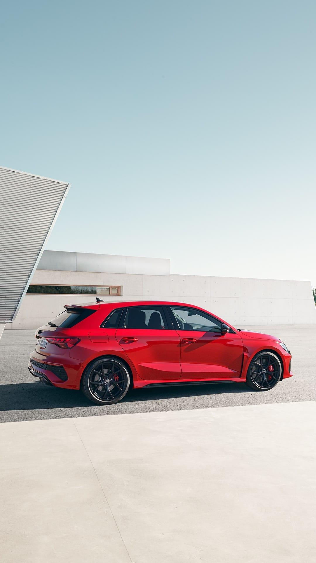 سيارة RS 3 Sportback الجديدة كليًّا
