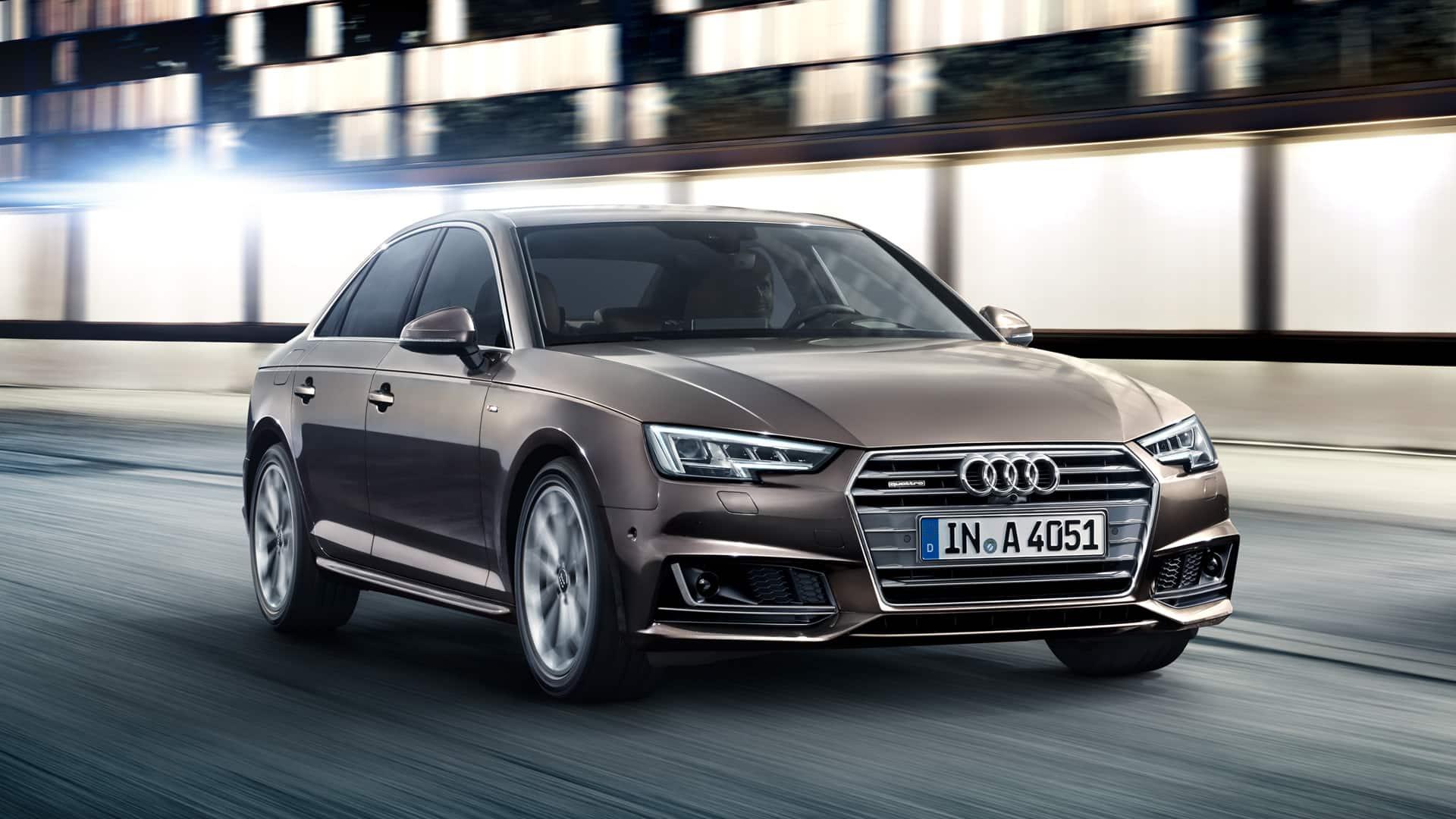 Audi A4 2019 A4 Range Audi Middle East Advancement Through