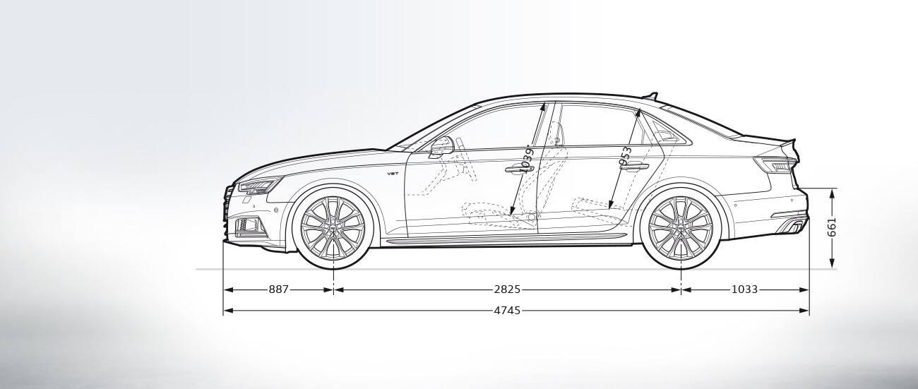 Sideview Audi S4 Audi A4 Range Audi Lebanon