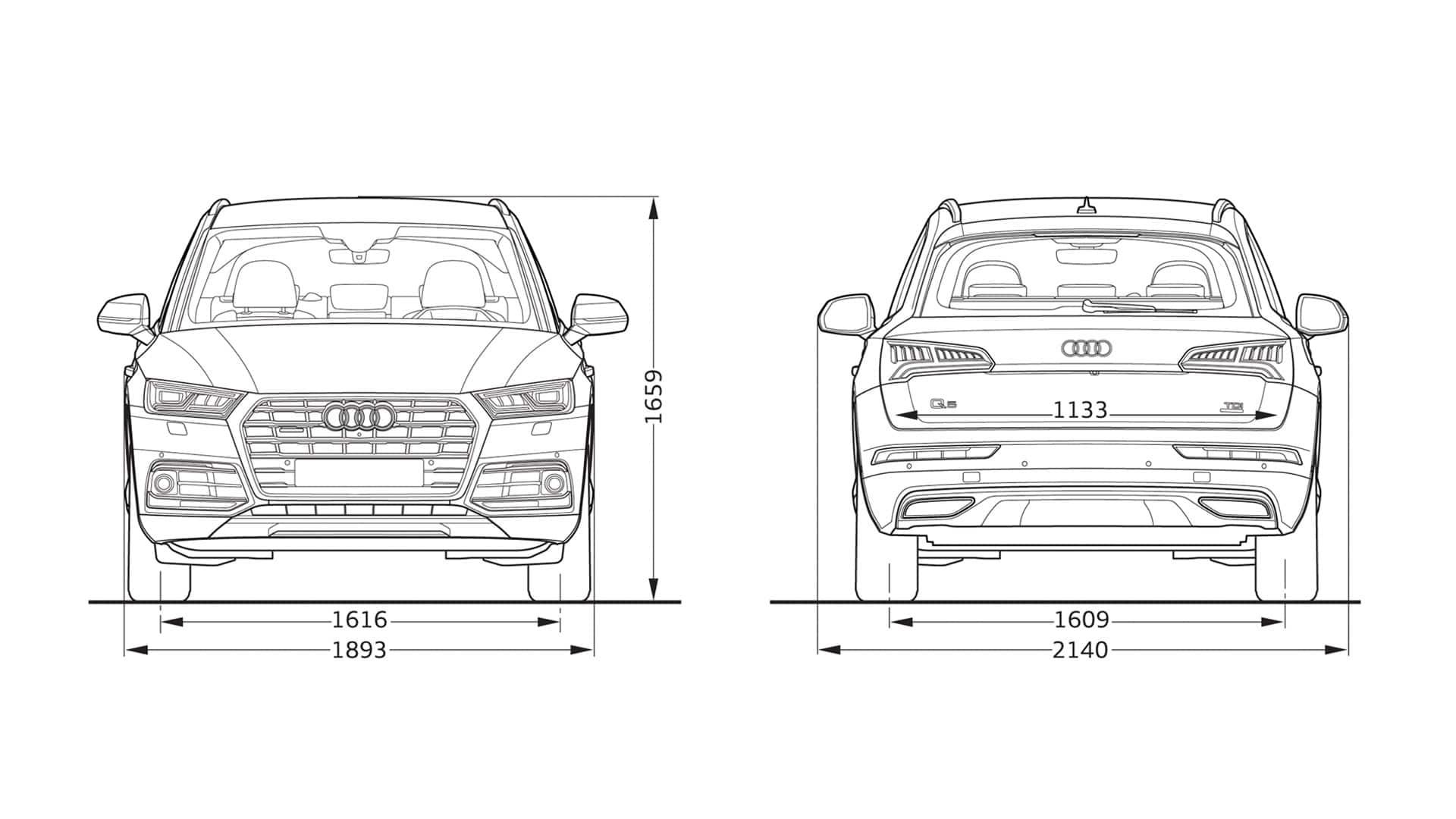 layer dimension Audi Q5 Audi Q5 Audi Bahrain