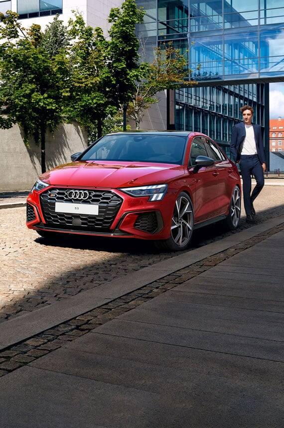 Audi S3 Sedan الجديدة كلياً