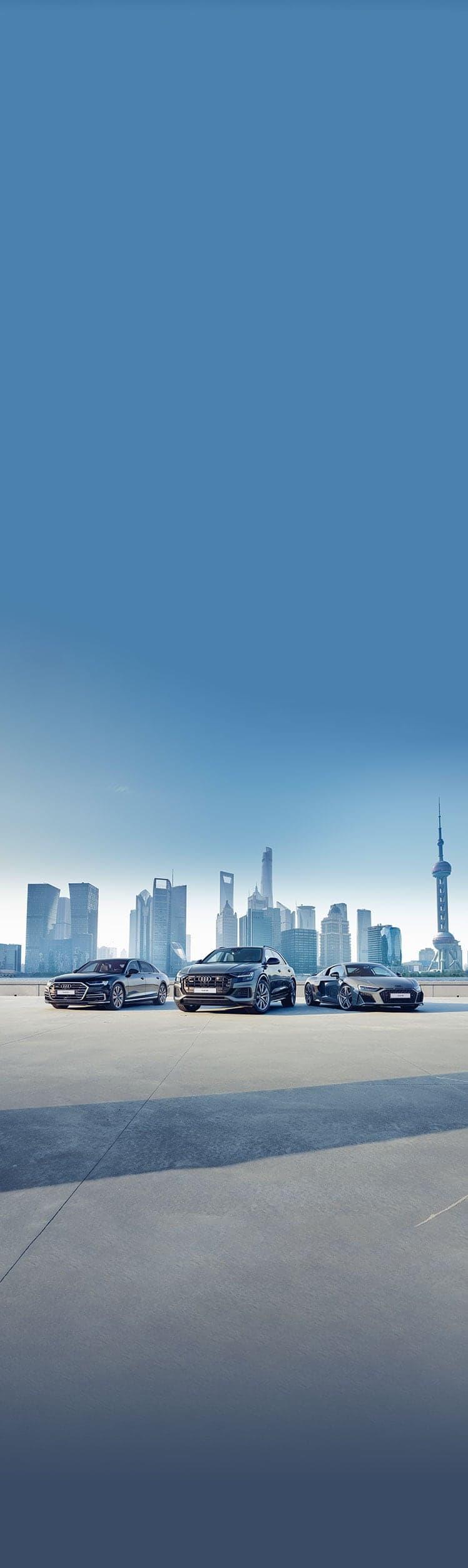 ابحث عن Audi الخاصة بك.