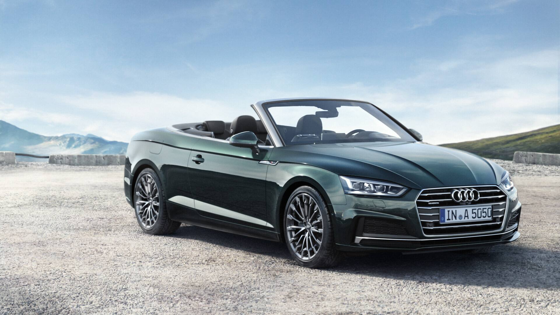 Up To Four People Can Enjoy Sheer Driving Pleasure Aboard The A5 Cabriolet