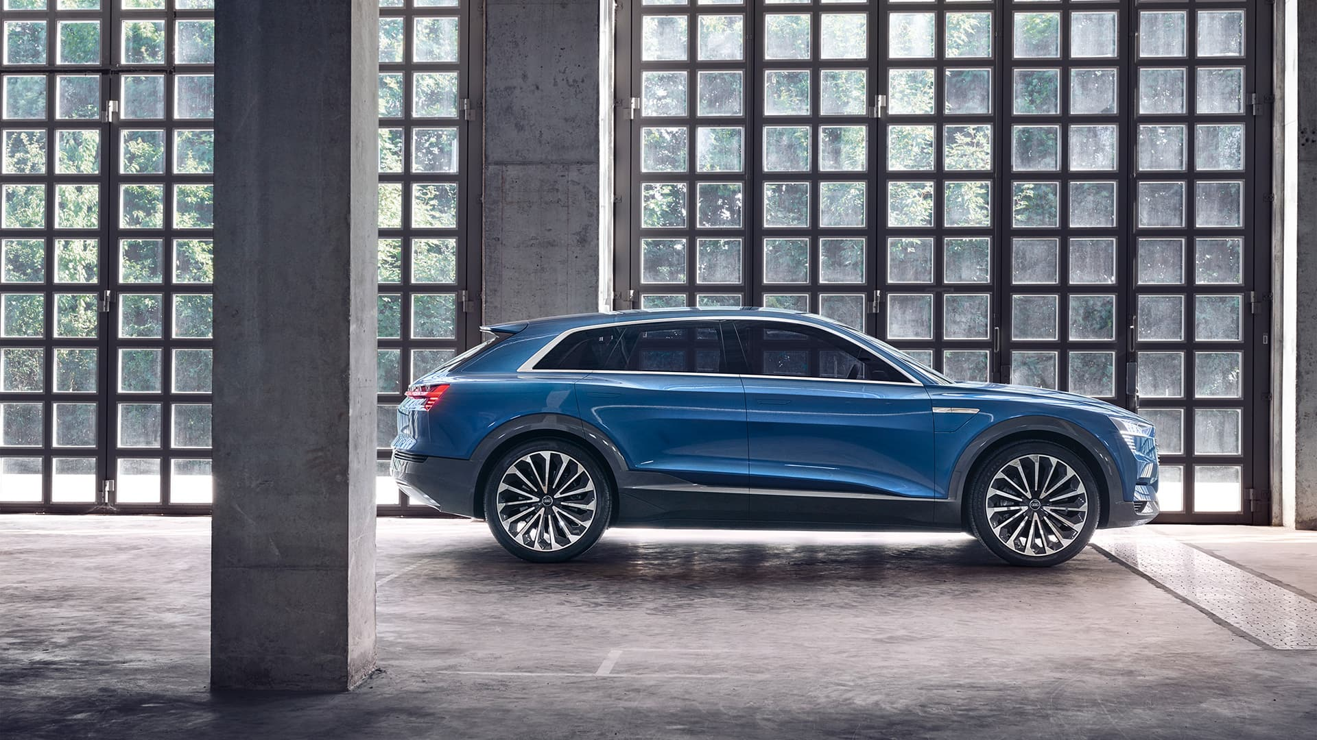Audi e-tron quattro concept > tron > Audi Middle East