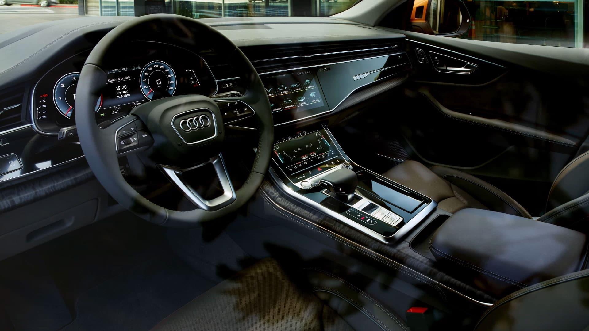 Audi Q8 2019 Q8 2019 Audi Middle East Advancement Through